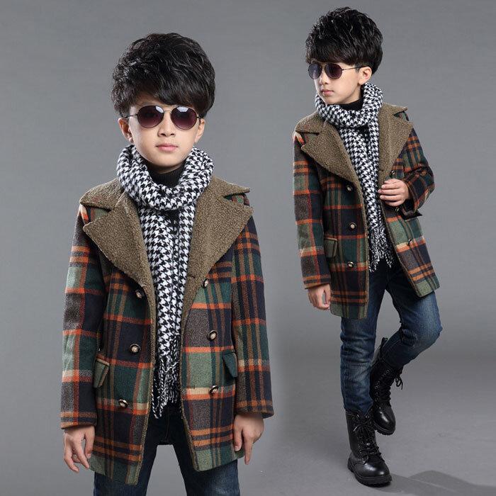 Set đồ cực ấm áp và thời trang cho bé trai trong mùa đông này