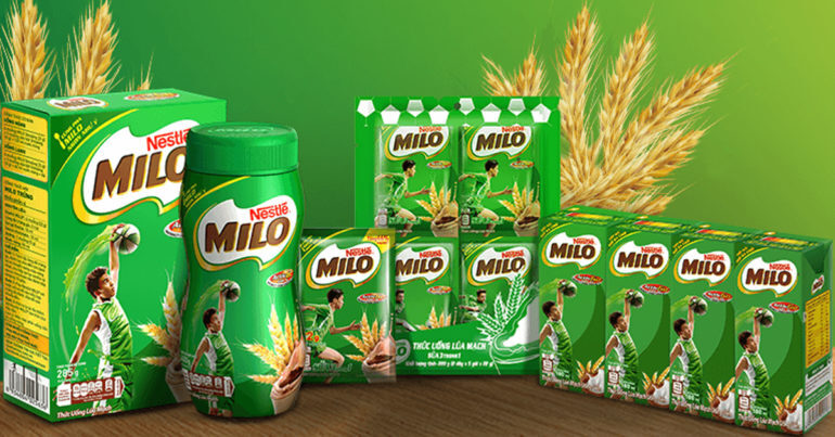 Sữa Milo có tốt không ? 1 thùng sữa Milo bao nhiêu tiền ?
