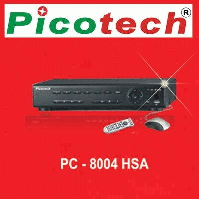 Hình ảnh đầu ghi hình Picotech PC-8004 HSA 4 kênh.