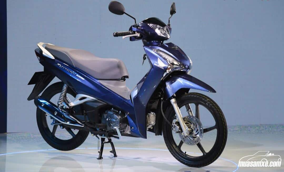 Honda Future màu xanh bạc 2020