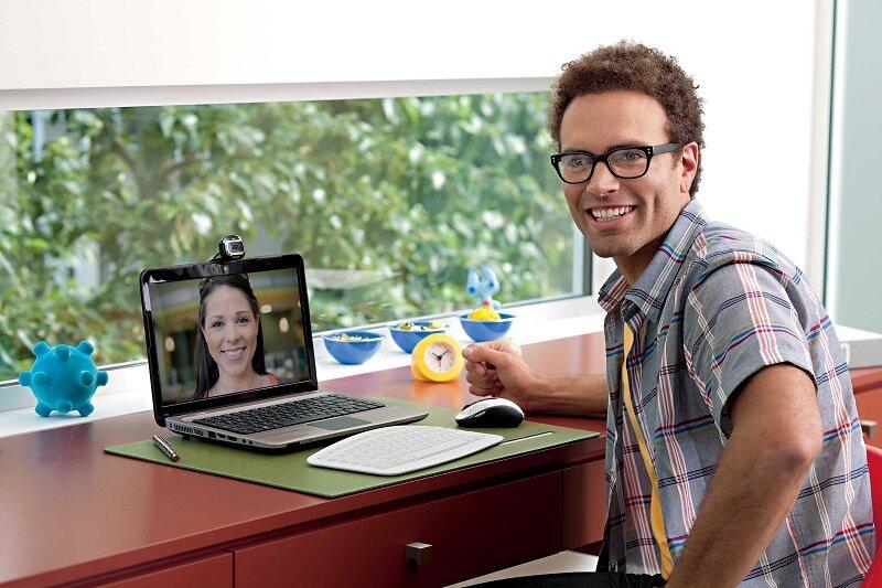 Webcam của hãng Microsoft có chất lượng video rất tốt