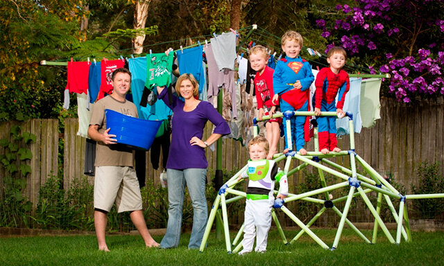 Máy giặt với khối lượng giặt lớn cho đại gia đình