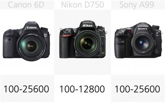 The large full frame CMOS sensors of these cameras mean they should all perform well in a ...