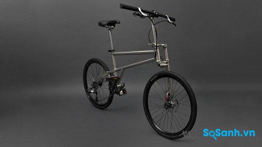 Khi dở ra, Helix là một chiếc xe đạp cực chất