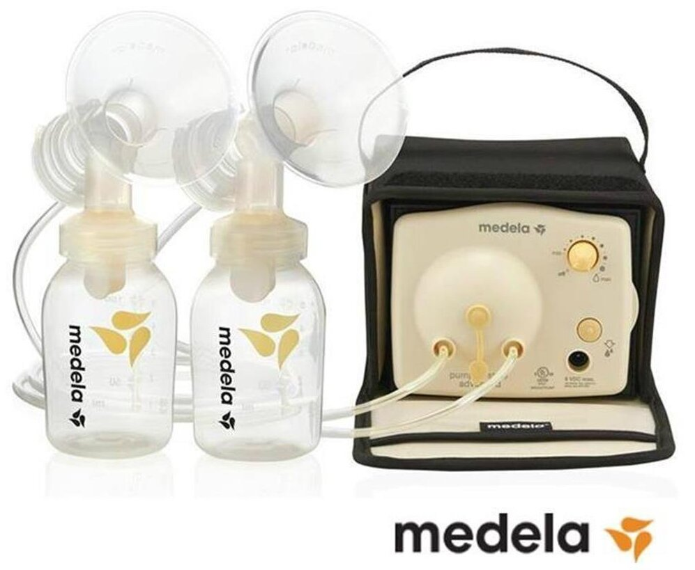 Máy hút sữa đôi chạy điện Medela sở hữu thiết kế thông minh