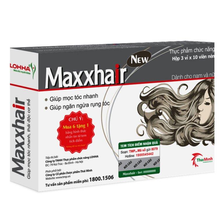 Thuốc hỗ trợ mọc tóc dành cho nam Maxxhair