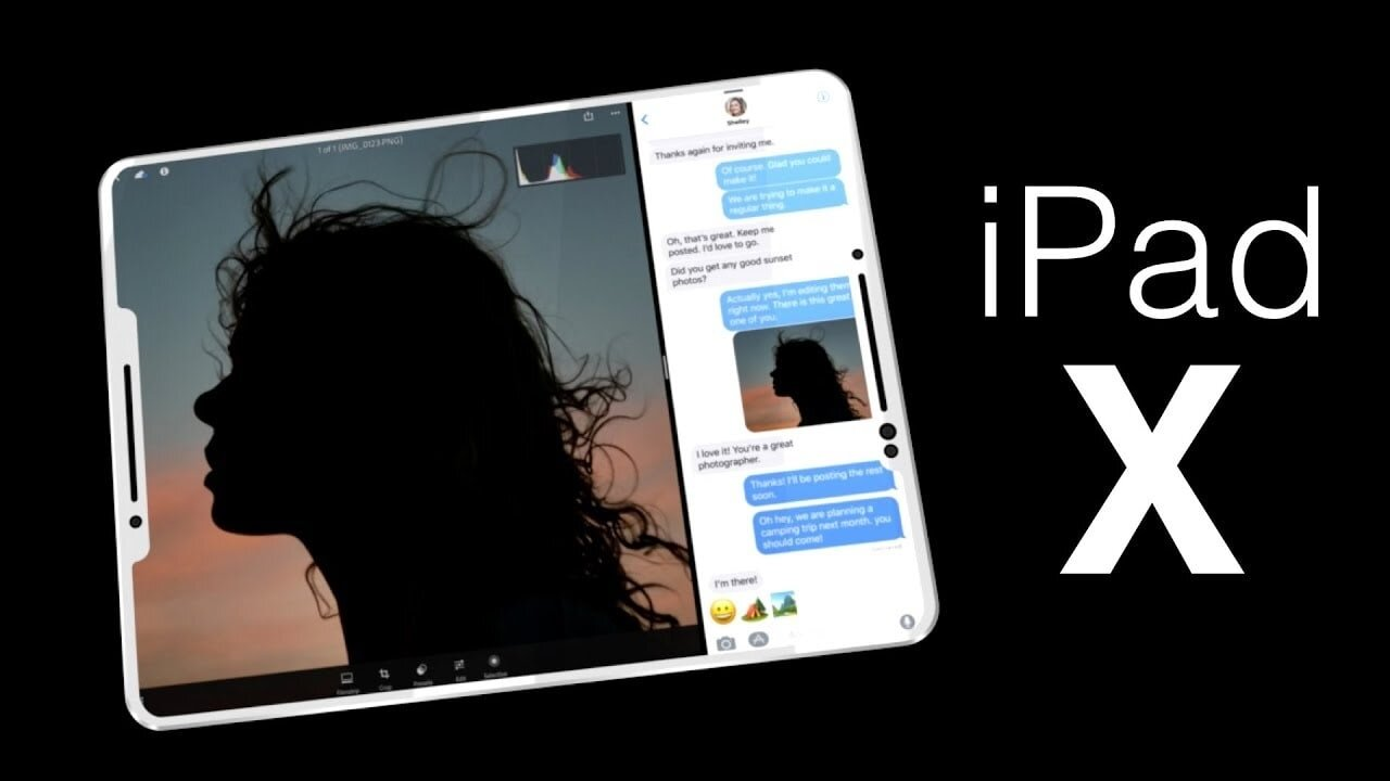 Face ID trên iPad Pro 2018 sẽ thay thế Touch ID tương tự iPhone X