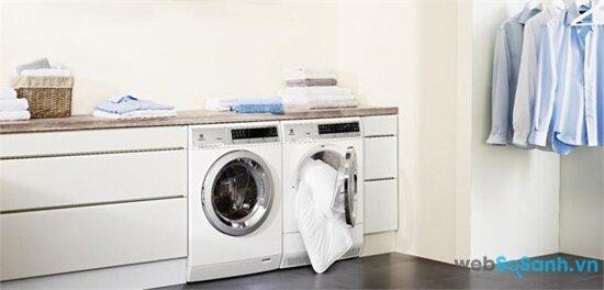 Máy giặt sử dụng công nghệ Magic Ball tiết kiệm năng lượng (nguồn: internet)