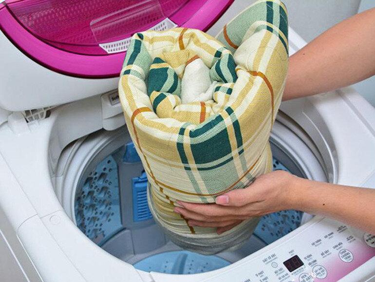 Chương trình giặt chăn màn của máy giặt Panasonic