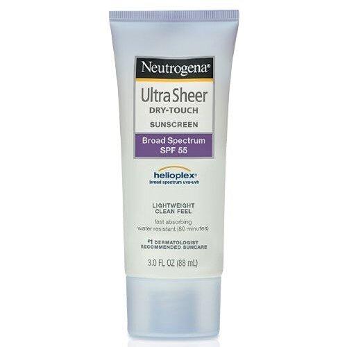 Neutrogena Ultra Sheer Dry Touch SPF 55