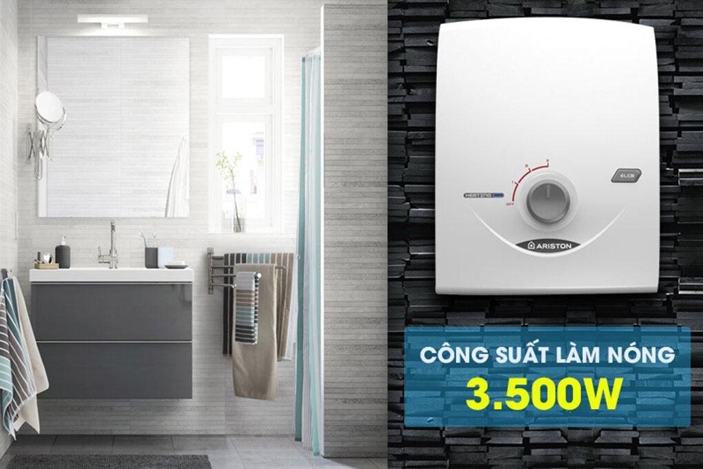 Chiếc máy nước nóng ngày nay đã trở thành sản phẩm thông dụng trong mỗi gia đình