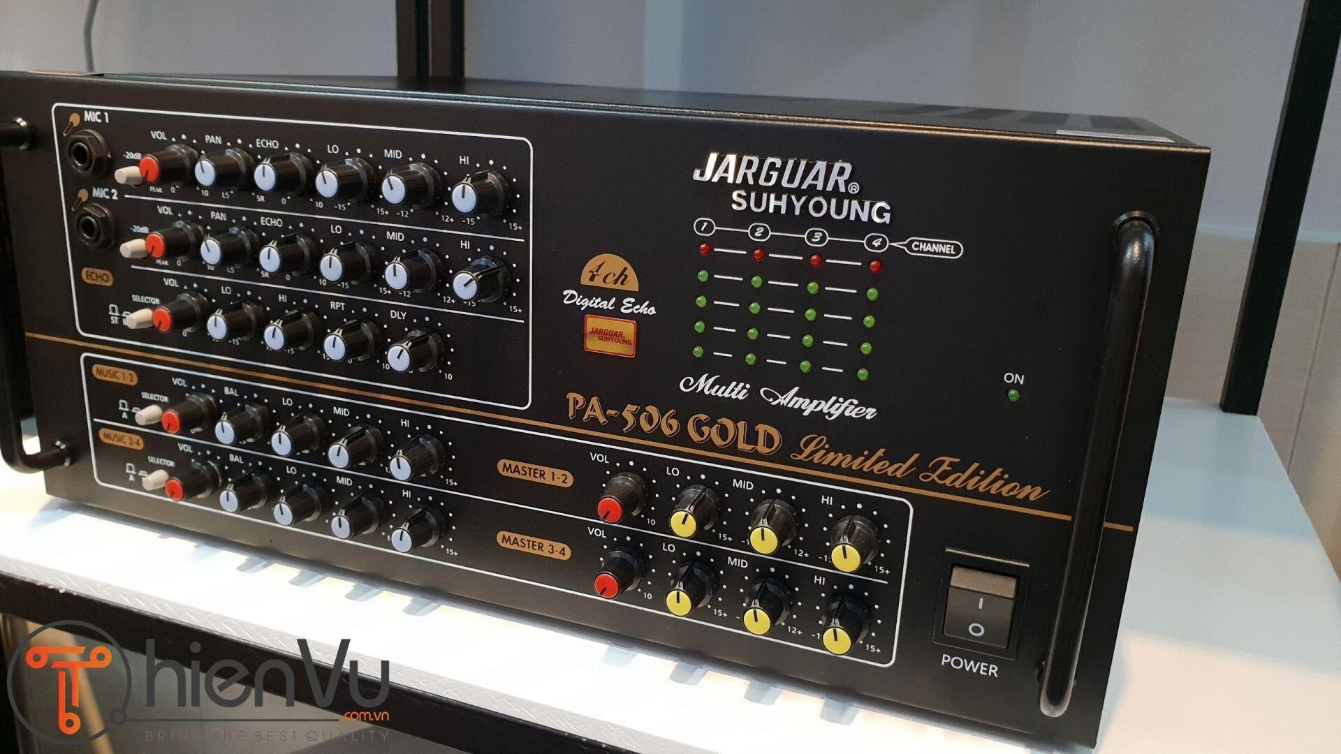 Thương hiệu Jaguar chuyên về thiết bị âm thanh karaoke