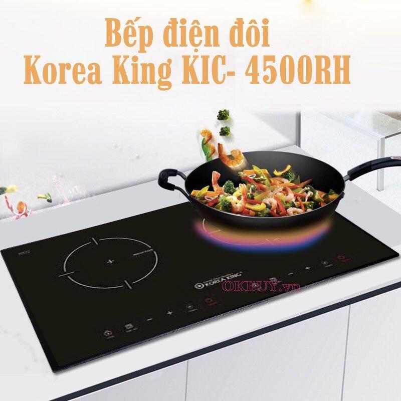Bếp từ đôi Korea King KIC-4500RH 4500W