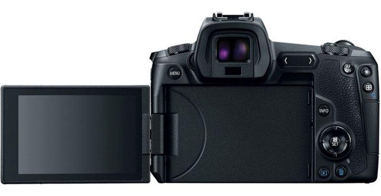 máy ảnh mirrorless full frame canon eos r