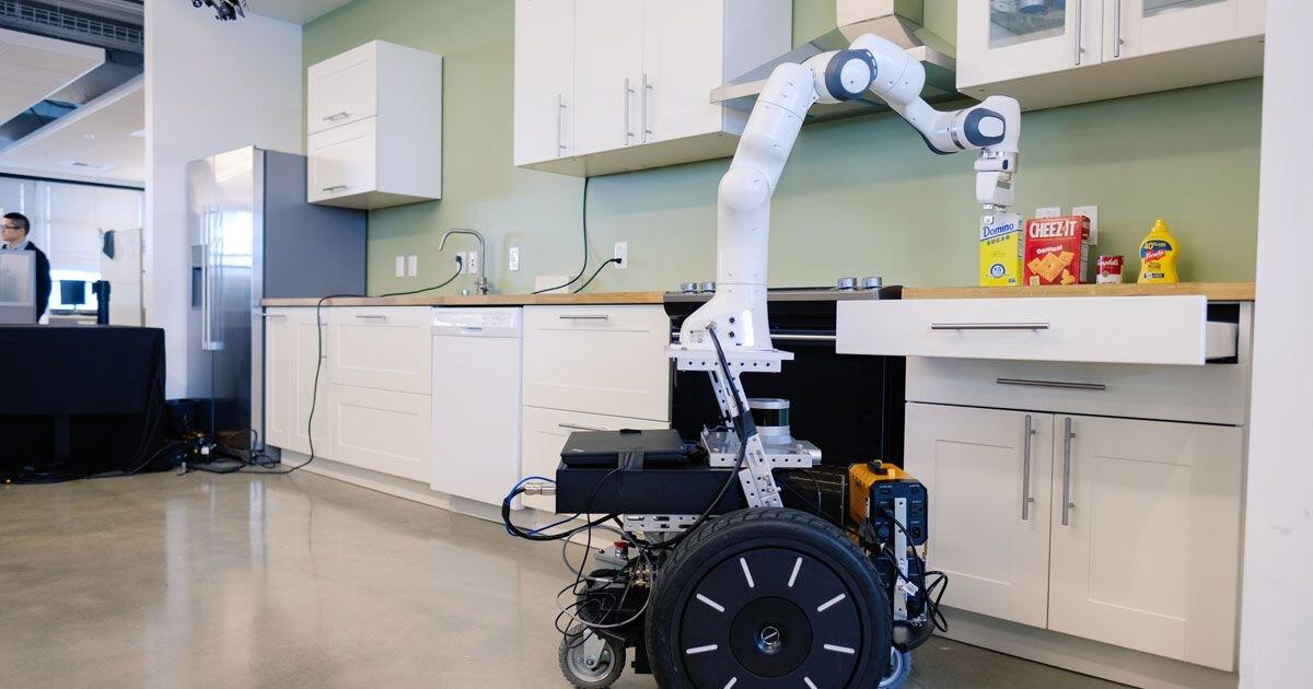 Robot nhà bếp của Nvidia sử dụng công nghệ AI hiện đại