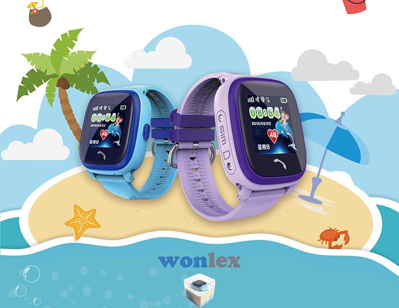 đồng hồ định vị Wonlex GW400X