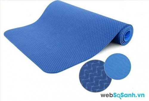 Tiêu chuẩn của một tấm thảm tập Yoga cần có độ dày khoảng 3 ly