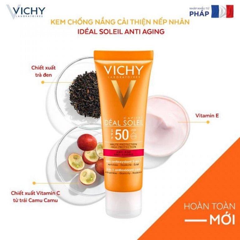 Kem chống nắng Vichy Anti-Ageing