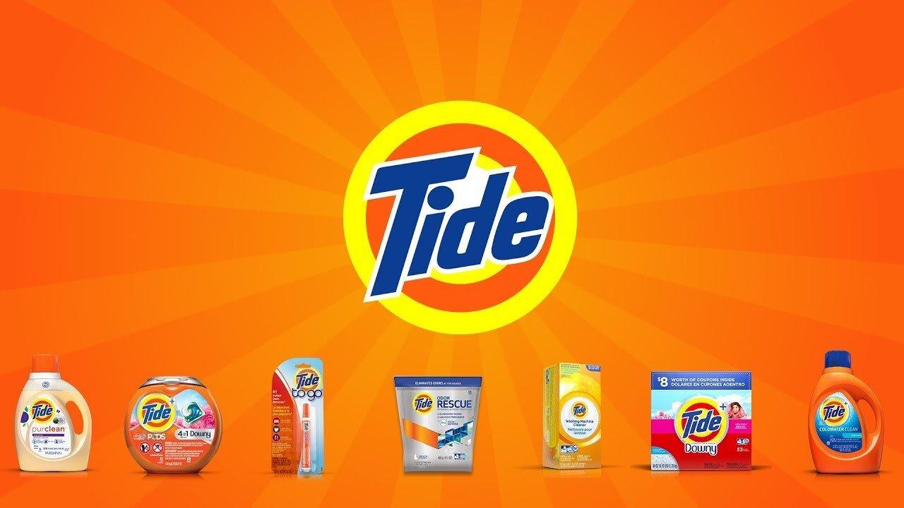 Bột giặt Tide mang hương thơm quyến rũ
