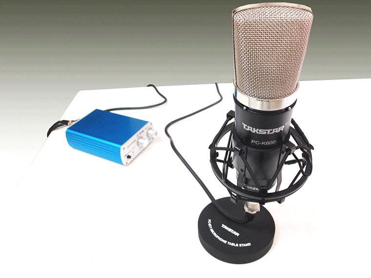 Các sản phẩm Micro thu âm của Takstar đều có thiết kế đẹp mắt