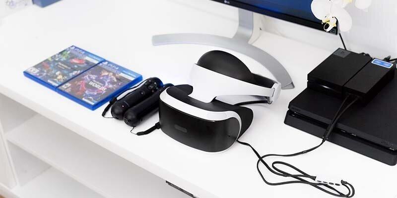 Kính Sony PlayStation VR giúp hình ảnh trở nên mượt mà