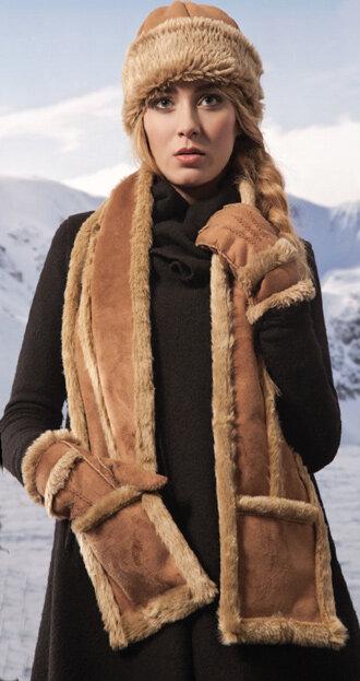 Khăn lông cừu ấm áp cho mùa đông 2016