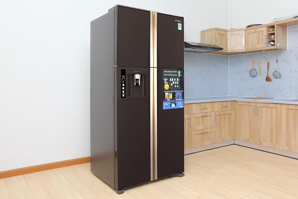 Tủ lạnh Hitachi R-W660FPGV3X GBK đem lại sự tiện nghi cho gian bếp của gia đình bạn.