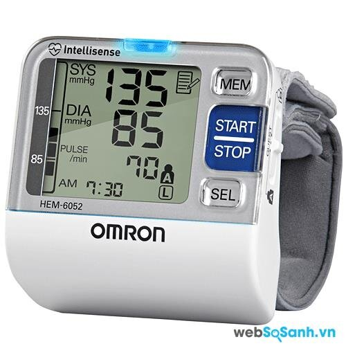 Máy đo huyết áp cổ tay Omron tốt nhất năm 2016: máy đo huyết áp Omron