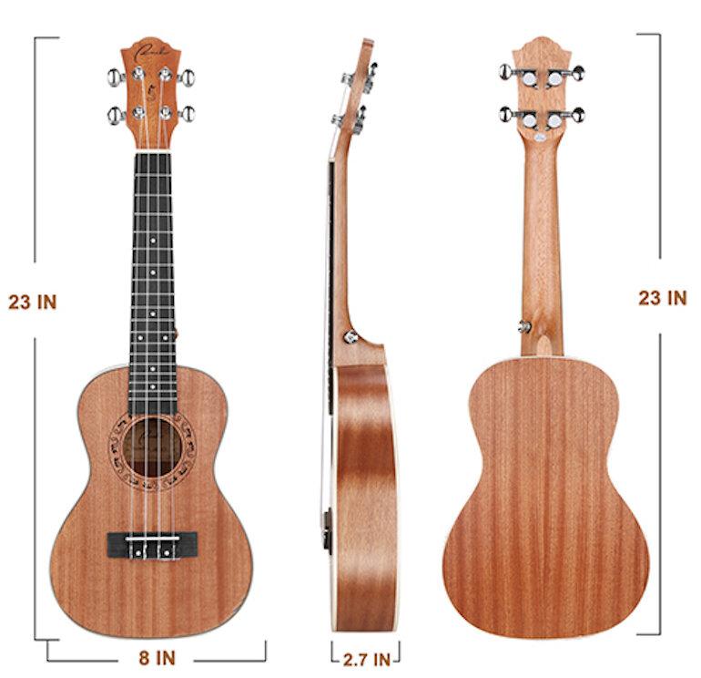 Những ưu điểm nổi bật của đàn Ukulele Concert