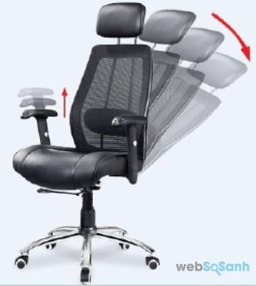 chọn loại ghế văn phòng có thể ngả lưng