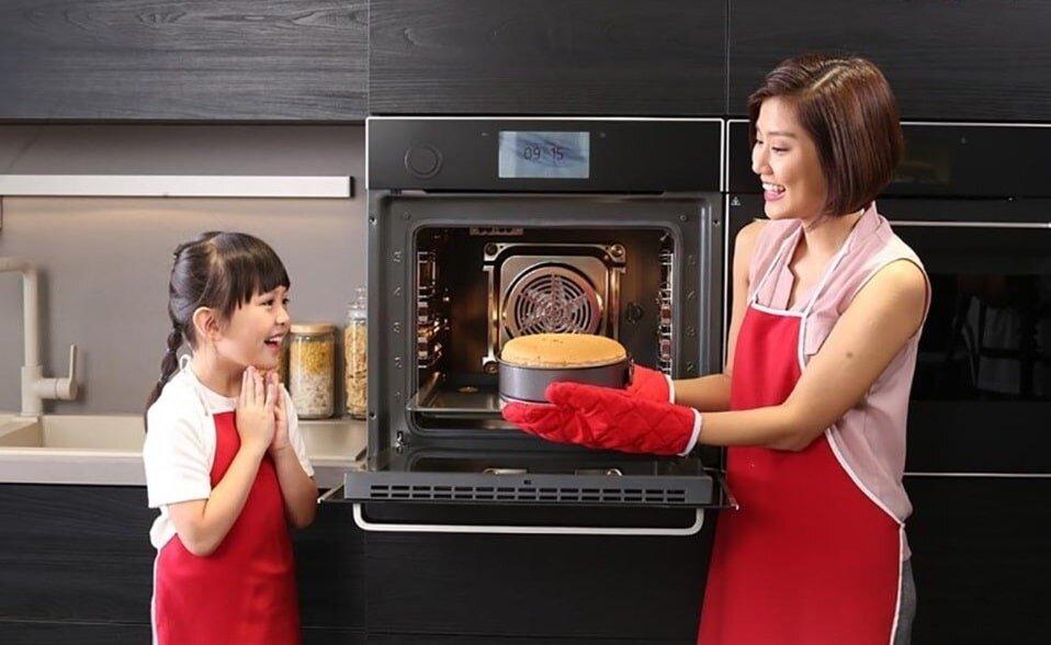 Chọn lò nướng bánh dung tích phù hợp sẽ nướng được mẻ bánh ngon hơn