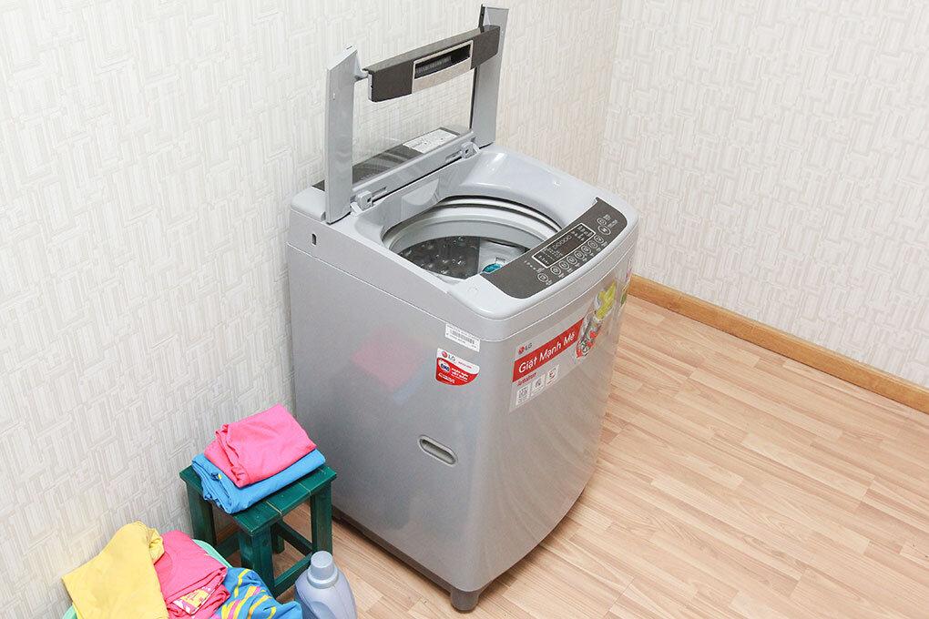 Máy giặt cửa trên LG rất được ưa chuộng tiết kiệm không gian sử dụng