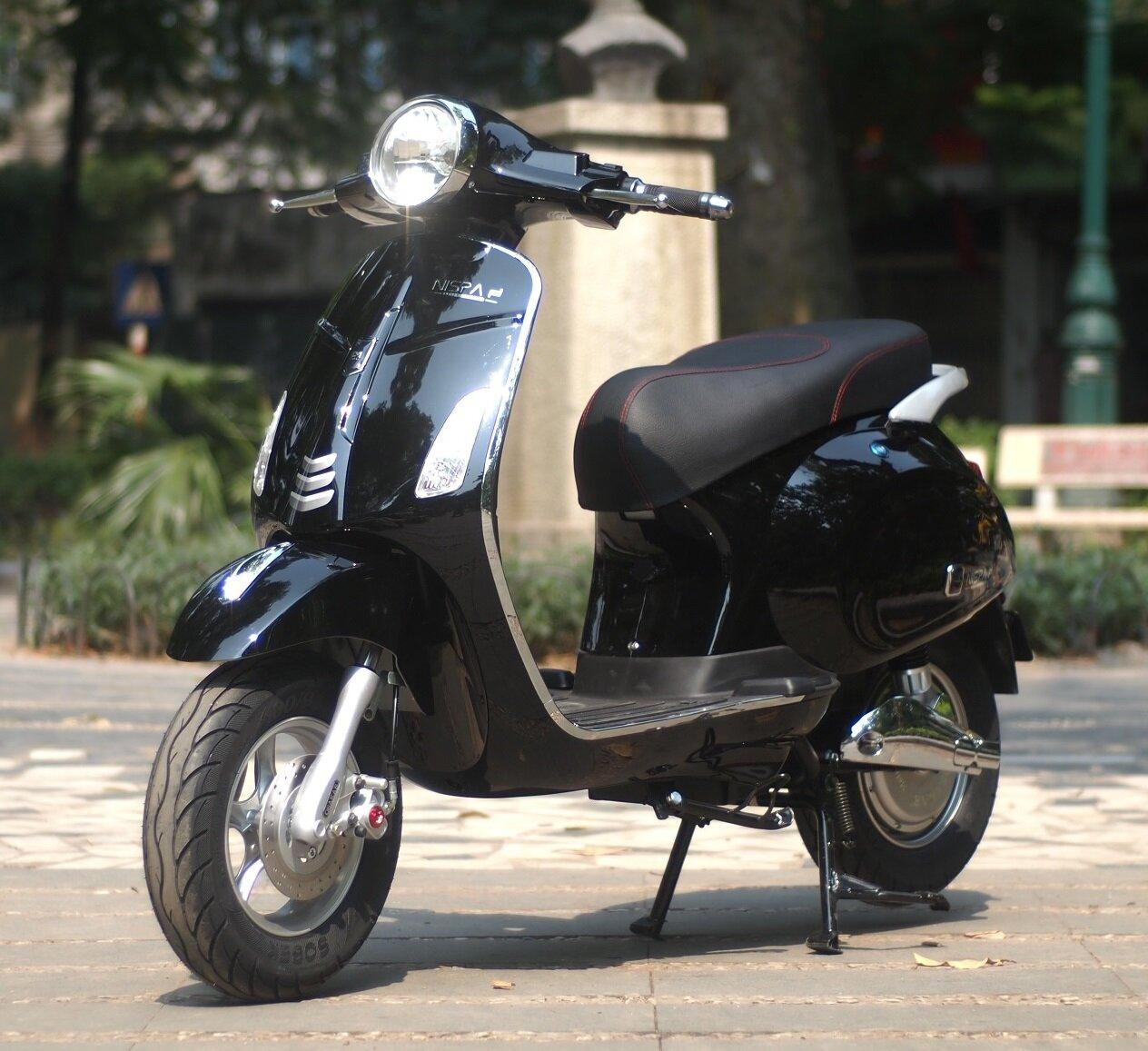 One Nispa sở hữu thiết kế sang trọng thanh lịch như các dòng xe máy cao cấp