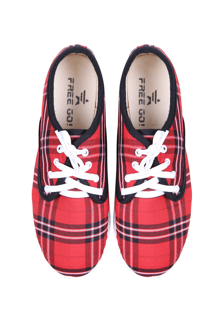 Giày sneakers họa tiết madras Free Go