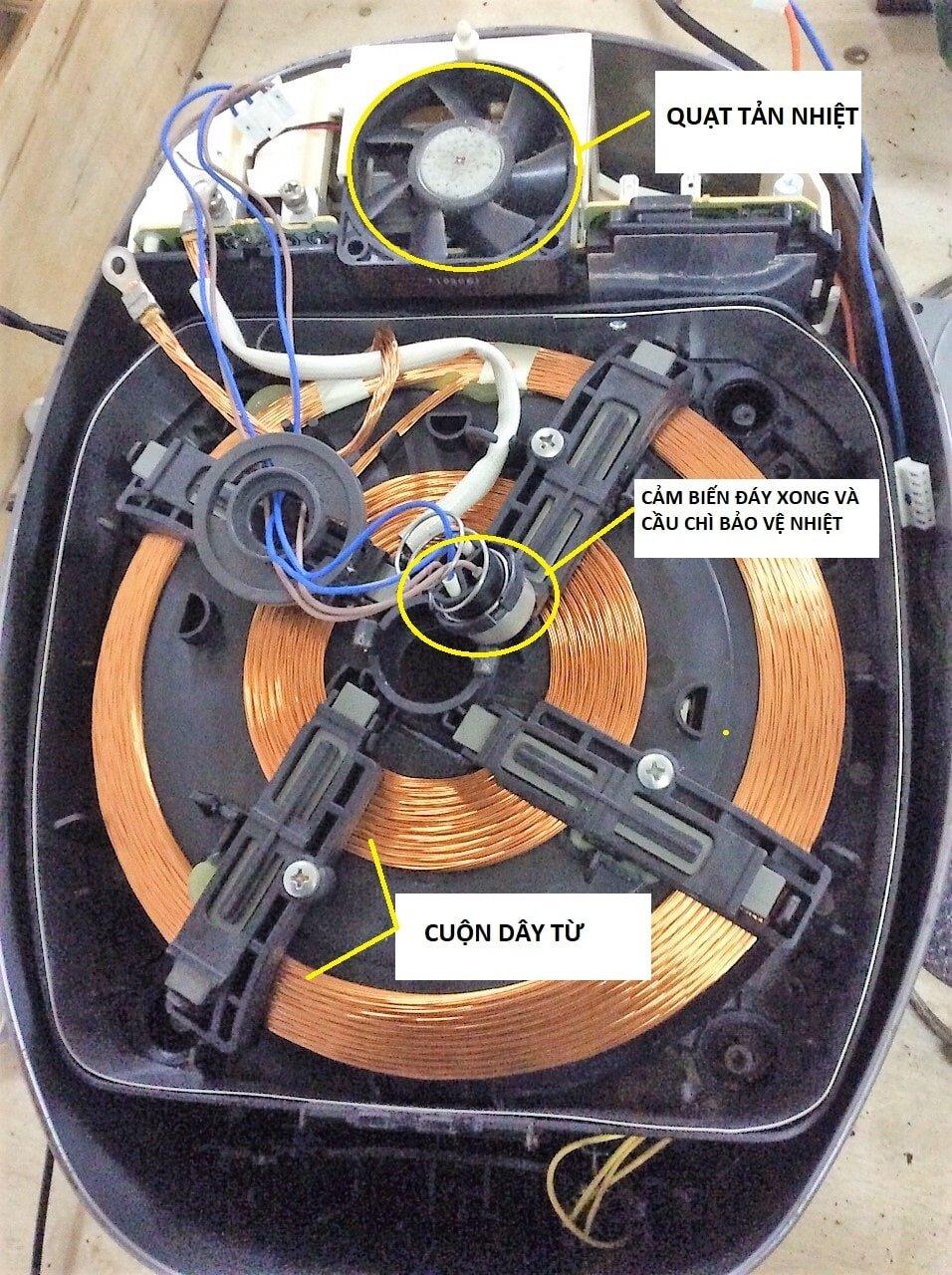 Cách sửa nồi cơm điện tử