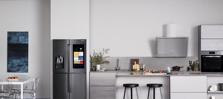 Tủ lạnh Samsung với thiết kế tinh tế