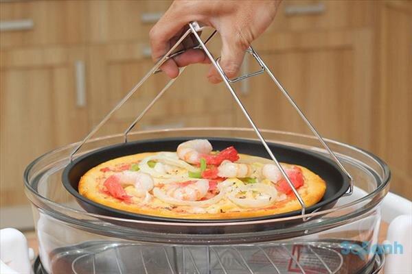 nướng bánh bằng lò thủy tinh