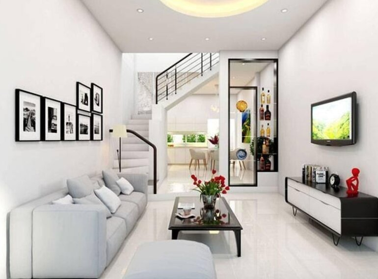 Sắp xếp nội thất phòng khách nhỏ theo chuẩn Châu Âu