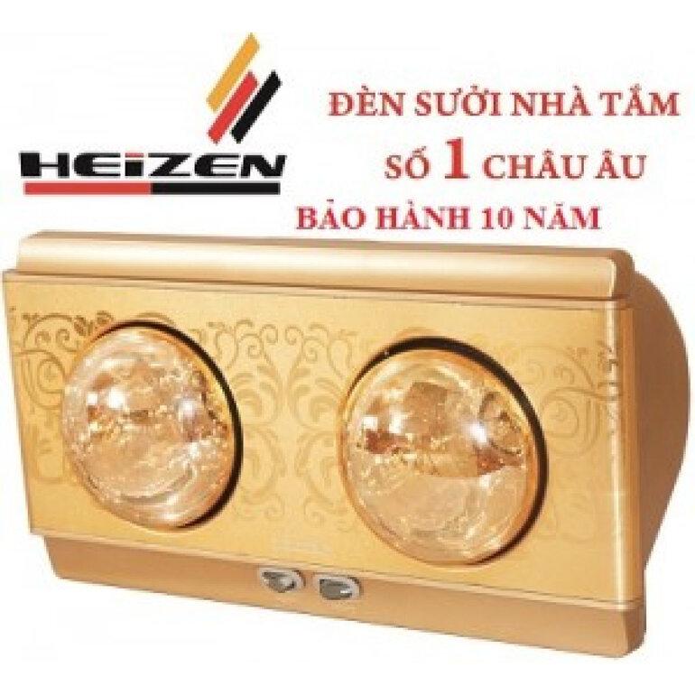 Đèn sưởi nhà tắm Heizen có thời gian bảo hành lên đến 10 năm