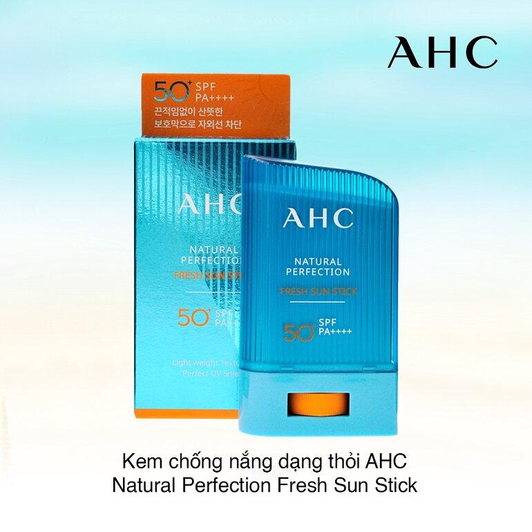 Kem chống nắng dạng thỏi Ahc Natural Perfection Fresh Sun Stick