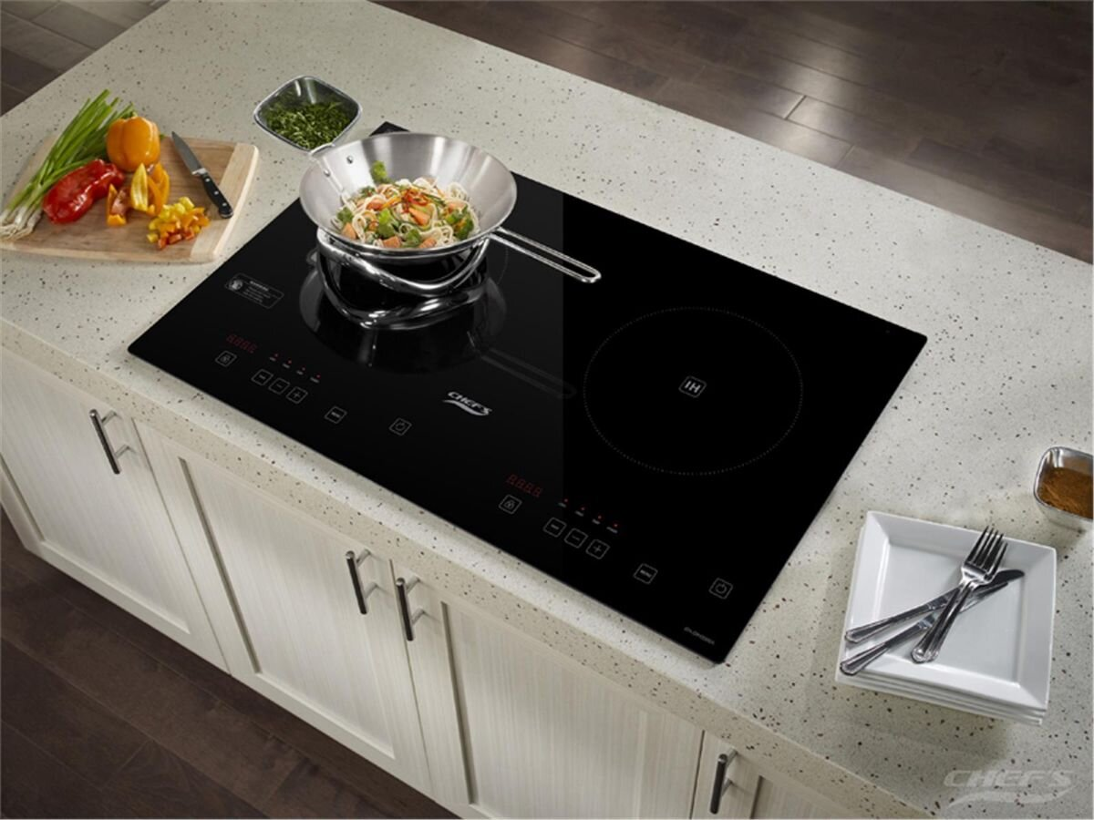 Bếp từ đôi cảm ứng Chef's EH-DIH2000A bền đẹp và tiện dụng