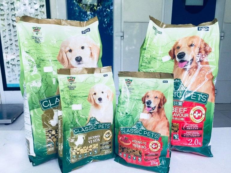 Thức ăn cho chó bao 10kg Classic Pet