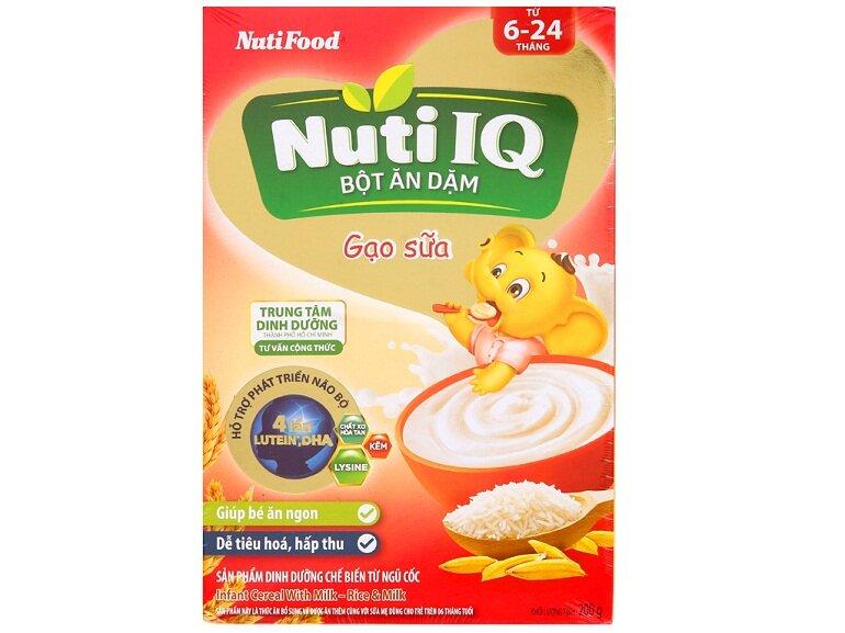 Bột ăn dặm cho bé Nutifood Nuti IQ