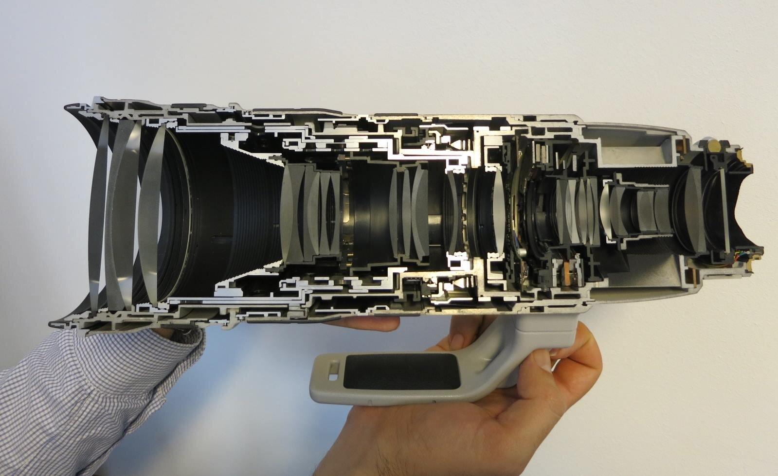 Cấu tạo ống lens máy ảnh cơ bản