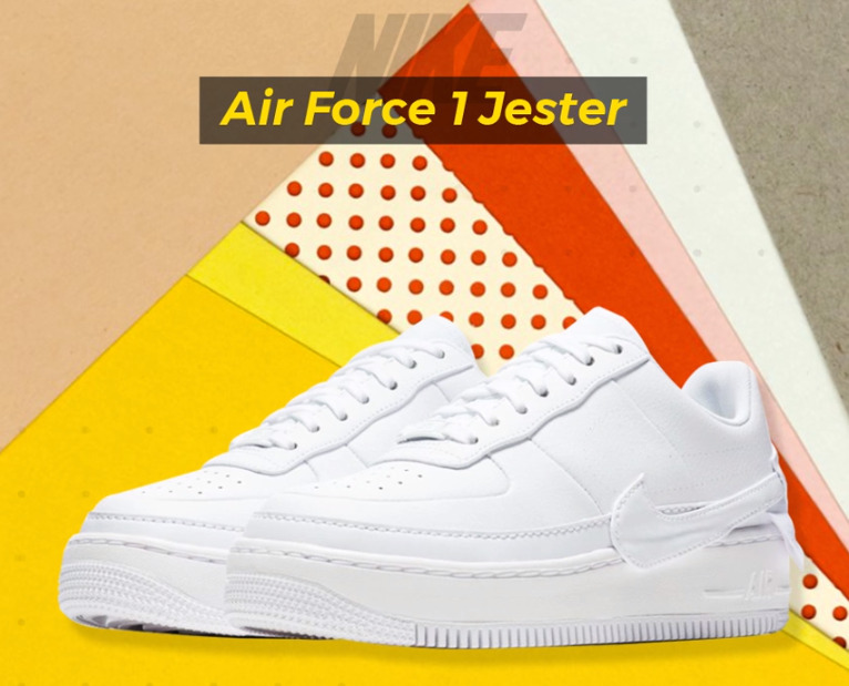 Giày Nike Air Force 1 Jester XX White