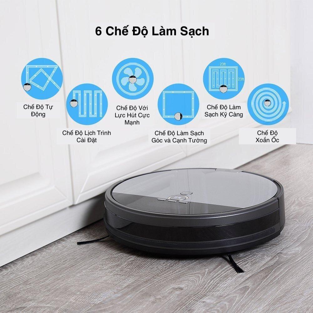 Robot hút bụi Ilife được tích hợp nhiều chế độ làm sạch khác nhau, đáp ứng nhu cầu vệ sinh của người dùng