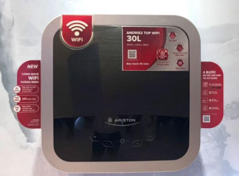 Bình nóng lạnh Ariston Andris2 Top wifi 30L - Giá tham khảo: 4.800.000 vnđ