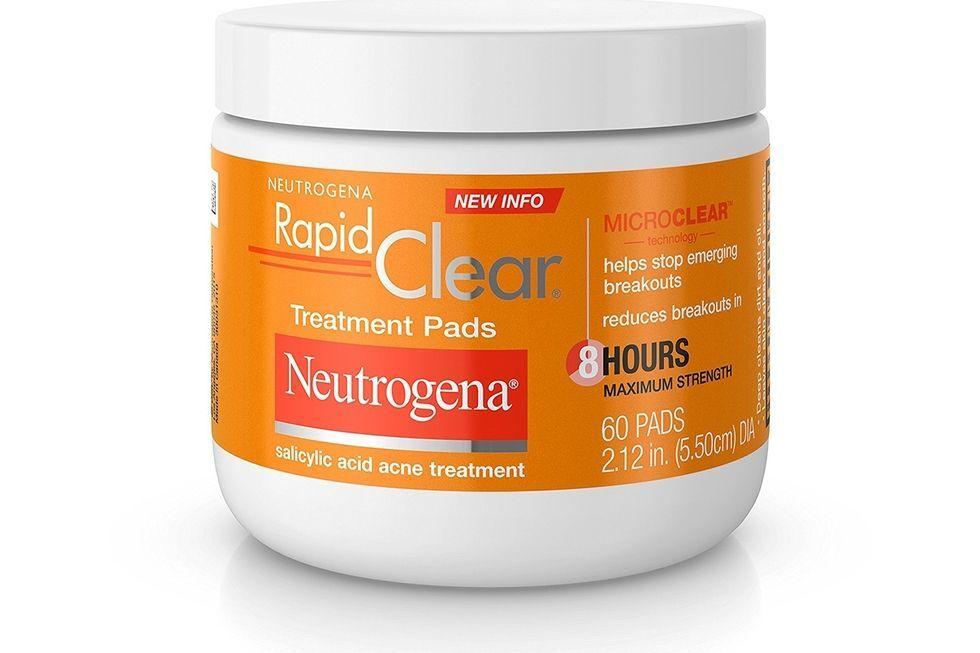 Miếng đắp trị mụn siêu tốc Neutrogena Rapid Clear Maximum Strength Treatment Pads
