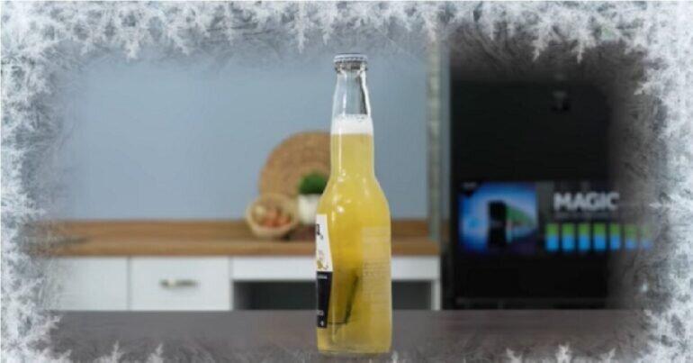 bia Corona đông tuyết