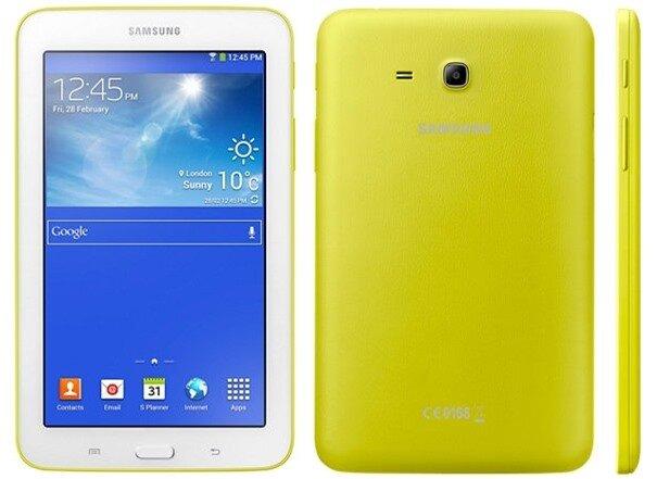Tablet giá rẻ Galaxy Tab 3 Lite có thêm 3 màu mới